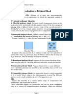Types of Polymer Blends