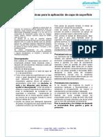 Matricería - Compuestos Epoxi - Instrucciones Básicas Para La Aplicación de Capa de Superficie