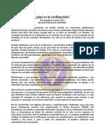 Civilizacion, Que Es La - Mar88 - Igonikon S. Jack, F.R.C.
