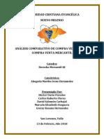 Analisis Comparativo Contrato de Compravena Civil y Mercantil Dario Paredes 2018