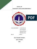 Proses Masuknya Islam Di Indonesia
