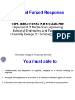 General Forced Response Part 1