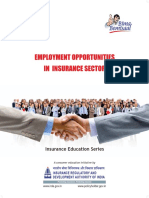 Employment Opportunities in Insurance Sector