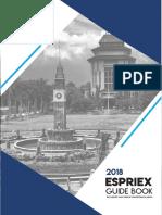Guidebook Espriex 2018