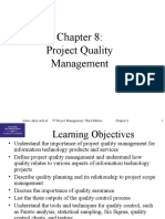 Chap08 Project Quality Management