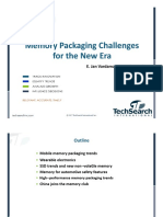 Memory Packaging Challenges | TechSearch