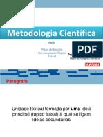 MTC - Plano de Escrita_Topico Frasal