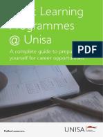 Career Short Learning Programmes Unisa