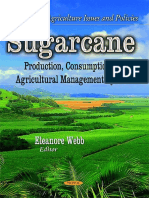 Sugarcane - Production, Consumption and Agricultural Management Systems - Eleanore Webb (Nova, 2014)