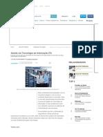 Gestão Em Tecnologia Da Informação (TI) - Super Vestibular