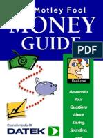 The Motley Fool Money Guide