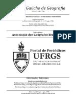 Região e Rede Regional Gaúcha