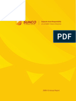 SUNCO Tobacco CSR Report -2009
