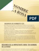 El Nombre de La Rosa (1)