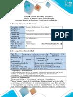 Guia de Actividades y Rúbrica de Evaluación - Fase 5- Asistencia a Control Por Consulta Externa