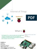 SAP HANA Internet of Things Raspberry Pi