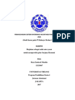Perancangan Sistem Informasi Akuntansi Pada Perusahaan Jasa