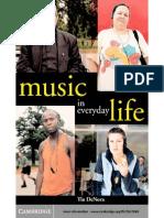 Tia DeNora-Music in Everyday Life -Cambridge University Press (2000)