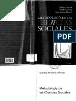 MARRADI ARCHENTI & PIOVANI (2007) - Metodologia de Las Ciencias Sociales