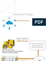 SAP HANA Internet of Things Real World Use Cases