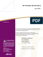 NF en 1097-6 (Juin 2001) - Masse Volumique Réelle Et Absorption d'Eau