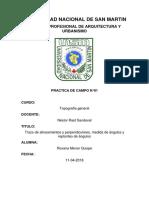 topografía TRAZO DE PERPENDICULARES