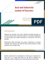 Medicinal and Ind. Enzymes_Shivam_Satyaki.pptx