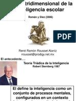 Teoria Tridimensional de La Inteligencia MARTINIANO