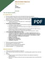 Parcial Relaciones Publicas USMP