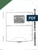 Manual Termostato de Aire programable
