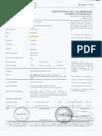 Certificado de calibración Manometros.pdf
