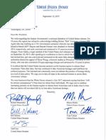 Menendez Letter to POTUS Trump on Americans Held in Iran