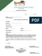 Contrato de Publicidad Vacio