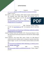 Daftar Pustaka Makalah Pnemonia Acc