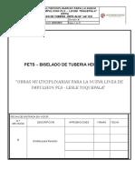 Pets Bicelado de Tuberia Hdpe Toq 22