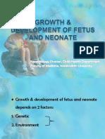 Growth _ Development of Fetus _ Neonate