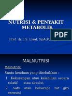 Nutrisi _ Penyakit Metabolik
