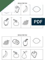 Bingo Frutas
