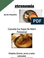 Gastronomía Potosí