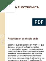 Fisica electronica-Retificador de Media Onda