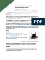 Componentes Electrónicos Del AAC