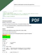 RESUMEN Programación en Ensamblador