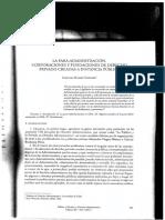 PARADMINISTRACIÓN CORP Y FUND (ROMAN) (1)