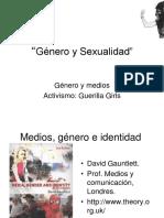 Género y medios clase 4 2013.ppt