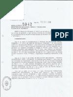 Resolución Nº 5942