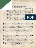 Canto Para Cazar Tigüitigües (Arreglo Modesta Bor)