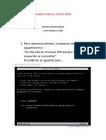 Examen Parcial de Software