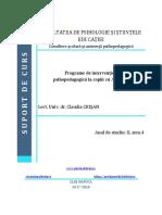 Syllabus_Programe de Interventie Psihopedagogica La Copiii Cu ADHD