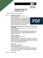Alrededor de Mayo Del 68 | Programación