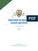 Directorio Servicios Legales Gratuitos y Emergencias